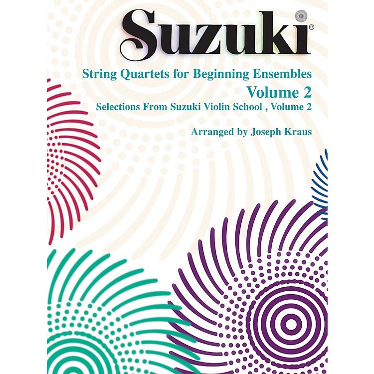 AlfredSuzuki String Quartets for Beginning Ensembles Volume 2 (Book)