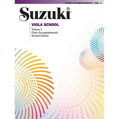 Alfred Suzuki Viola School Piano Accompaniment Volume 3 (Book)-thumbnail