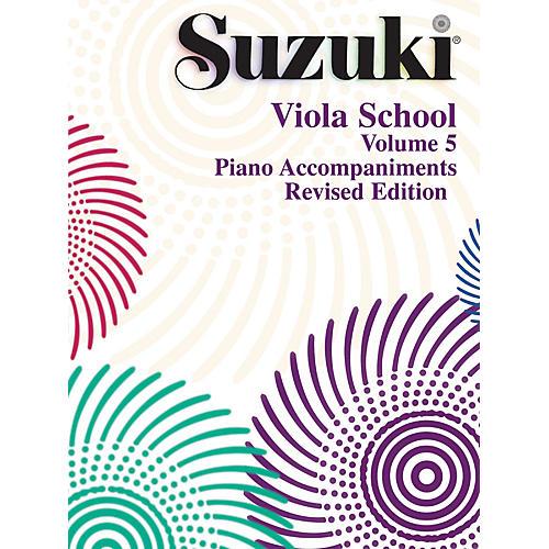 Alfred Suzuki Viola School Piano Accompaniment Volume 5 (Book)-thumbnail
