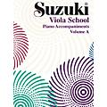 Alfred Suzuki Viola School Piano Accompaniment, Volume A (contains Volumes 1 & 2) Textbook  Thumbnail