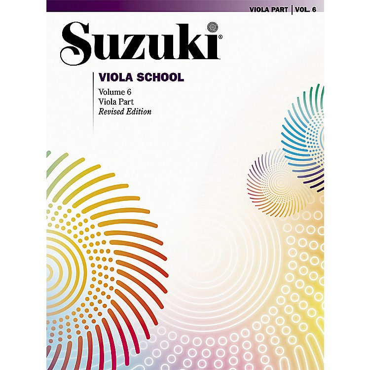 Alfred Suzuki Viola School Viola Part, Volume 6 Book