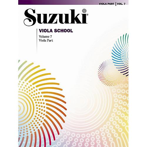 Alfred Suzuki Viola School Viola Part, Volume 7 Book