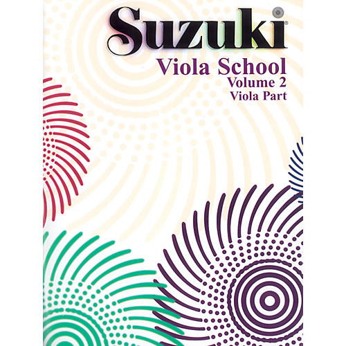 Alfred Suzuki Viola School Volume 2 (Book)