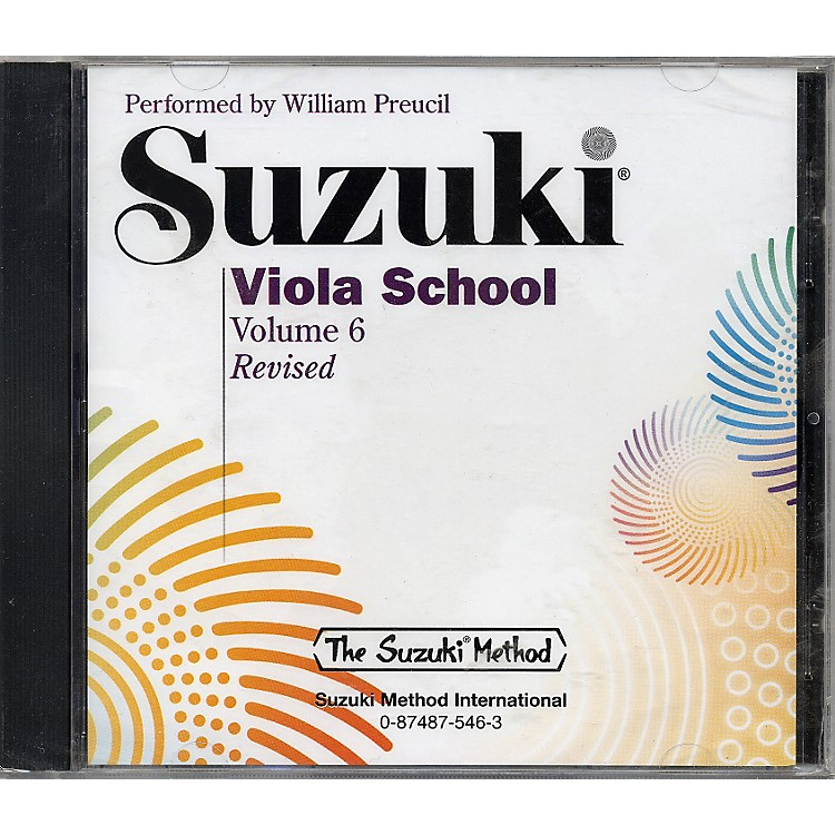 Alfred Suzuki Viola School, Volume 6 (CD)