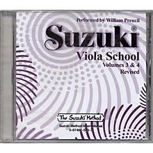Alfred Suzuki Viola School Volumes 3 & 4 (CD)