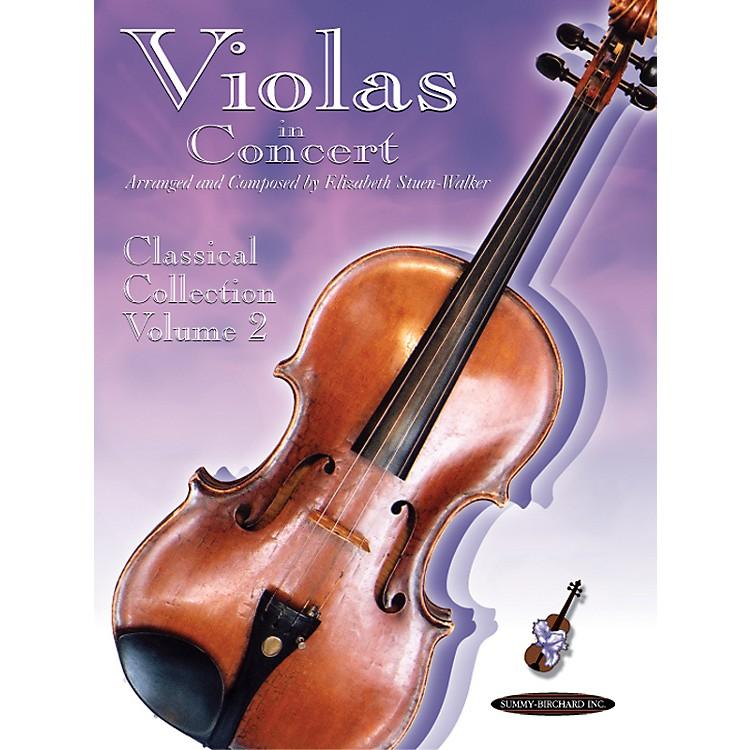 AlfredSuzuki Violas in Concert: Classical Collection Volume 2