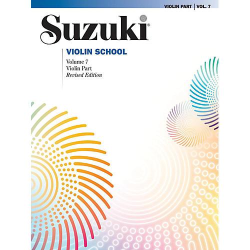 Suzuki Suzuki Violin School Book Volume 7 (Revised)