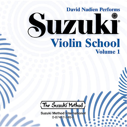 Alfred Suzuki Violin School CD, Volume 1 (Nadien)