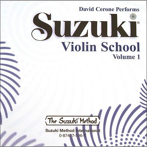 Alfred Suzuki Violin School CD, Volume 1 (Suzuki)