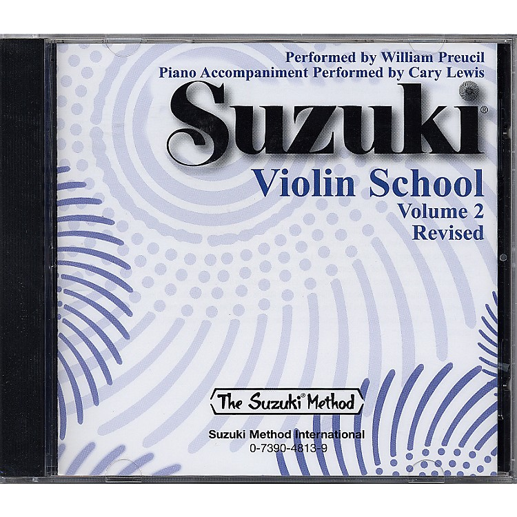 Alfred Suzuki Violin School CD Volume 2