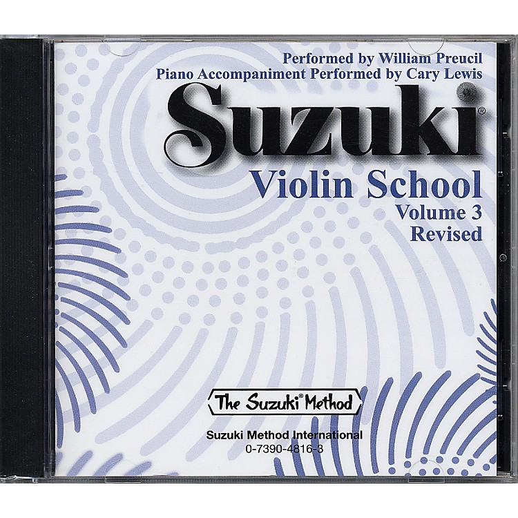 AlfredSuzuki Violin School CD Volume 3