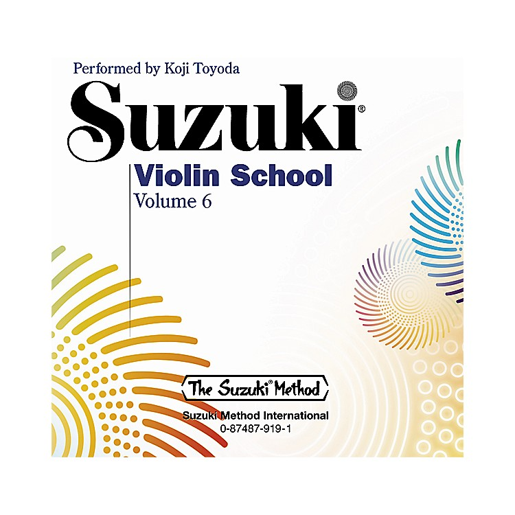 Alfred Suzuki Violin School CD, Volume 6