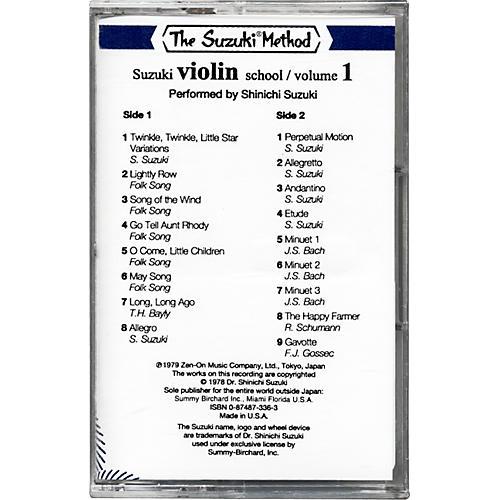 Alfred Suzuki Violin School Cassette Volume 1