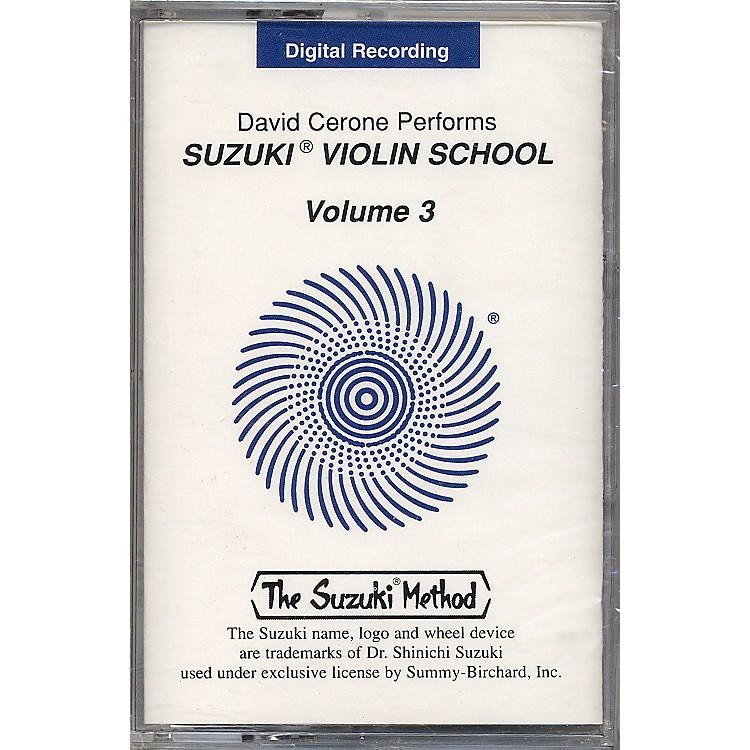 AlfredSuzuki Violin School Cassette Volume 3