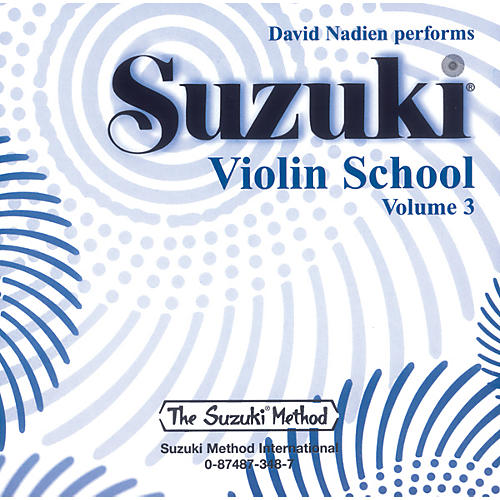 Alfred Suzuki Violin School Compact Discs Volume 3 (Nadien)