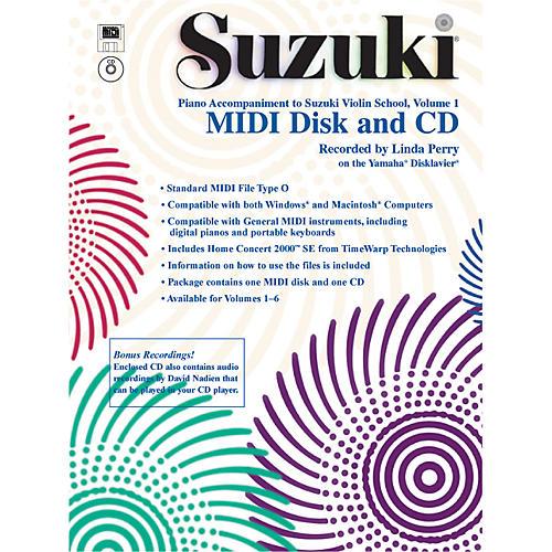 Alfred Suzuki Violin School MIDI Disk Acc./CD-ROM, Volume 1
