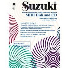 Alfred Suzuki Violin School MIDI Disk Acc./CD-ROM, Volume 6
