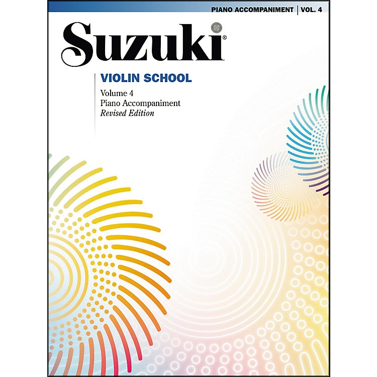 Suzuki Suzuki Violin School Piano Acc. Volume 4