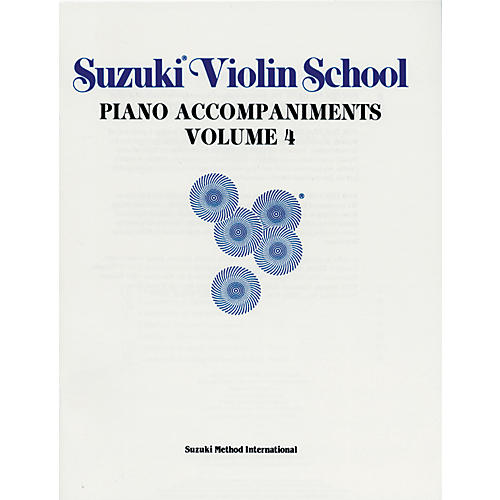 Alfred Suzuki Violin School Piano Accompaniment Volume 4 (Book)