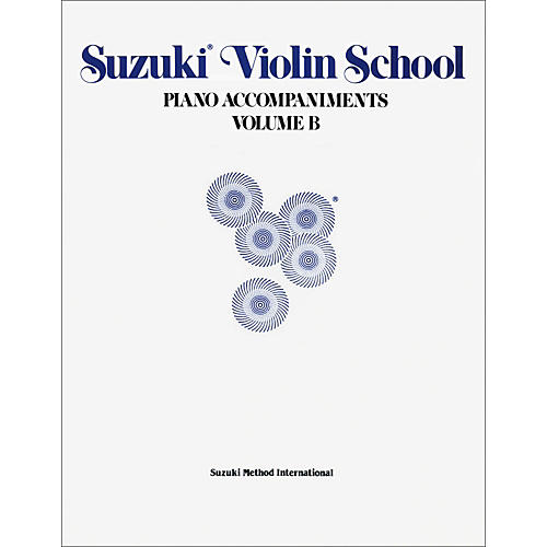 Alfred Suzuki Violin School Piano Accompaniments Volume B (Book)