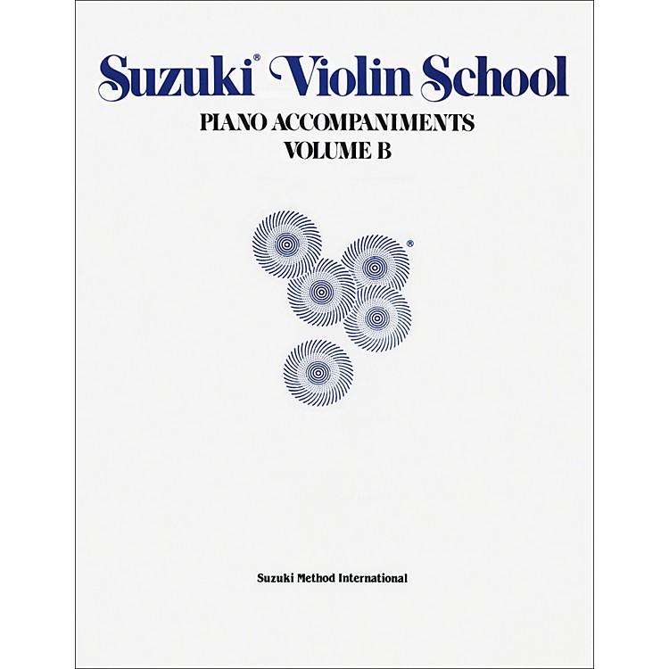 AlfredSuzuki Violin School Piano Accompaniments Volume B (Book)