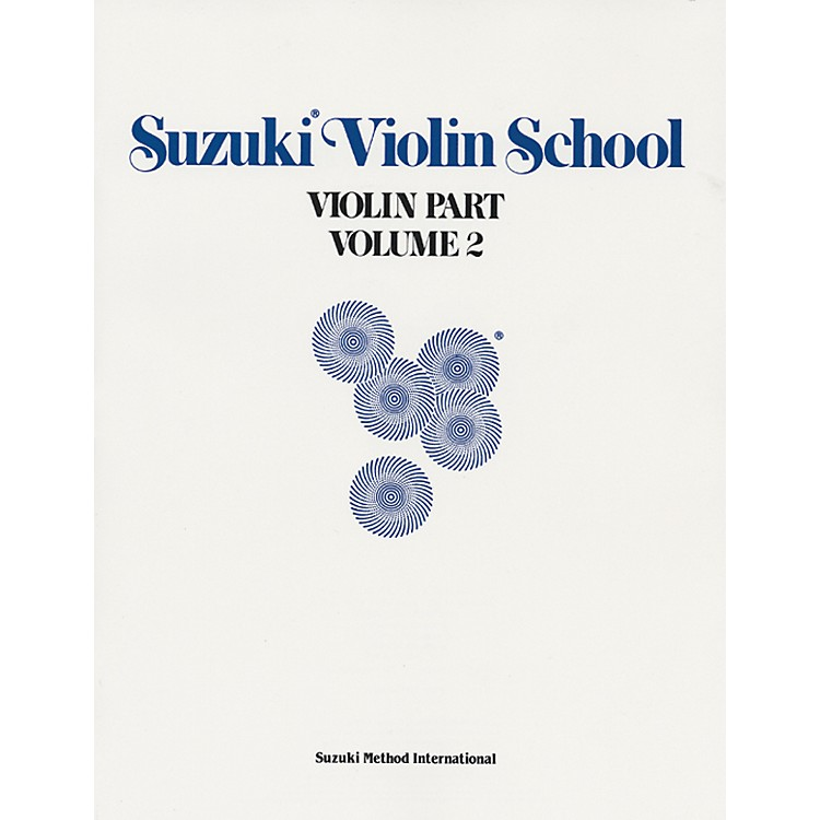 Alfred Suzuki Violin School Violin Part Volume 2 (Book)