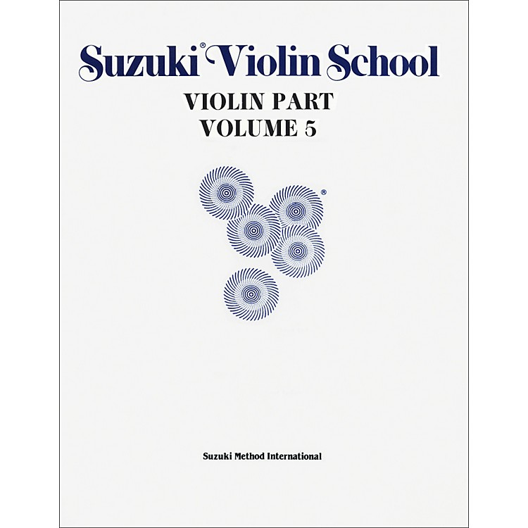 Alfred Suzuki Violin School Violin Part Volume 5 (Book)