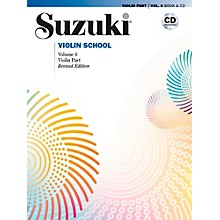 Alfred Suzuki Violin School Violin Part Volume 6 Revised Book & CD