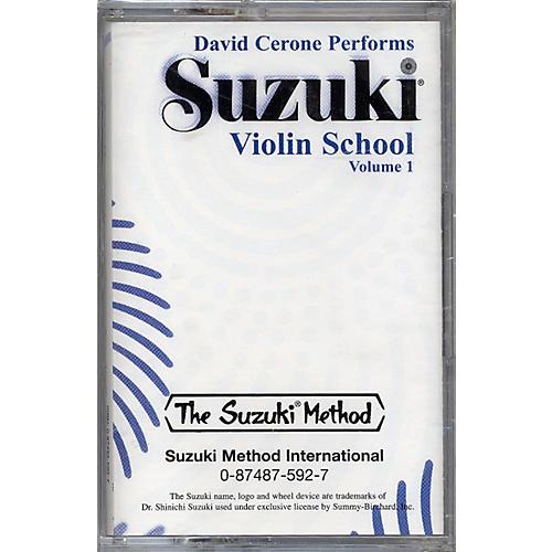 Alfred Suzuki Violin School Volume 1 (Cassette)