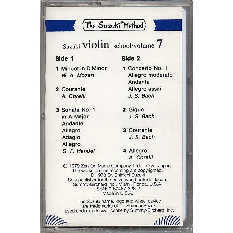 AlfredSuzuki Violin School Volume 7 (Cassette)