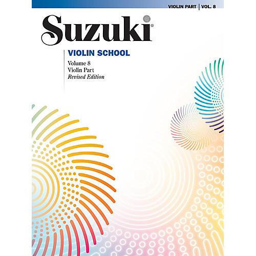 Alfred Suzuki Violin School Volume 8 Book (Revised)-thumbnail