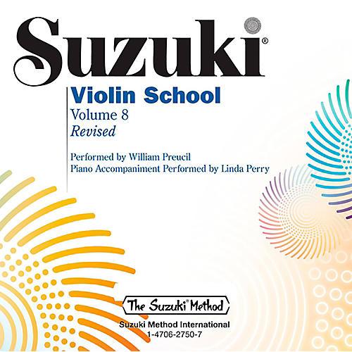 Alfred Suzuki Violin School Volume 8 CD (Revised)-thumbnail