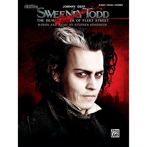 Alfred Sweeney Todd - Movie Selections Piano, Vocal & Guitar