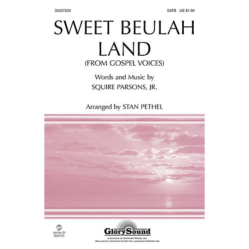 Shawnee Press Sweet Beulah Land (from Gospel Voices) SATB arranged by Stan Pethel-thumbnail