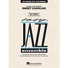 Hal Leonard Sweet Caroline Jazz Band Level 2 by Neil Diamond Arranged by Rick Stitzel