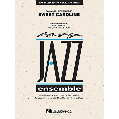 Hal Leonard Sweet Caroline Jazz Band Level 2 by Neil Diamond Arranged by Rick Stitzel-thumbnail