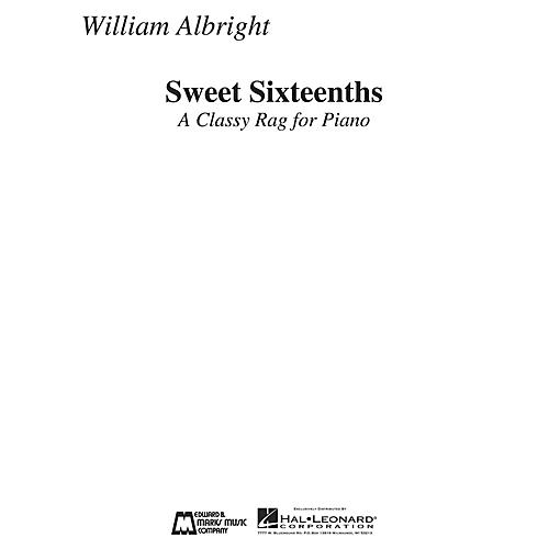 Edward B. Marks Music Company Sweet Sixteenths (A Classy Rag for Piano) E.B. Marks Series Composed by William Albright