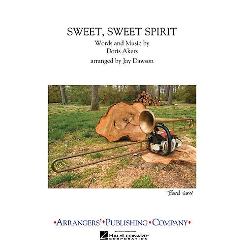 Arrangers Sweet, Sweet Spirit Marching Band Level 2.5 Arranged by Jay Dawson-thumbnail