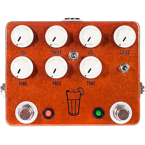 JHS Pedals Sweet Tea V3 Dual Overdrive Guitar Effects Pedal