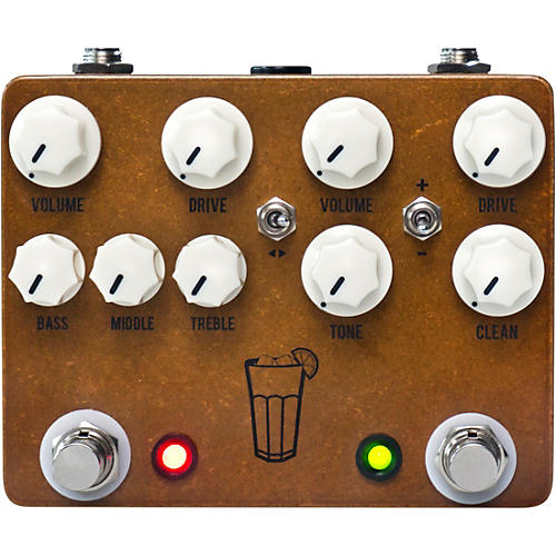 JHS Pedals Sweet Tea V3 Overdrive/Distortion Effects Pedal-thumbnail