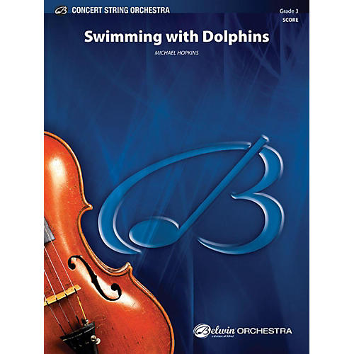 Alfred Swimming with Dolphins String Orchestra Grade 3-thumbnail