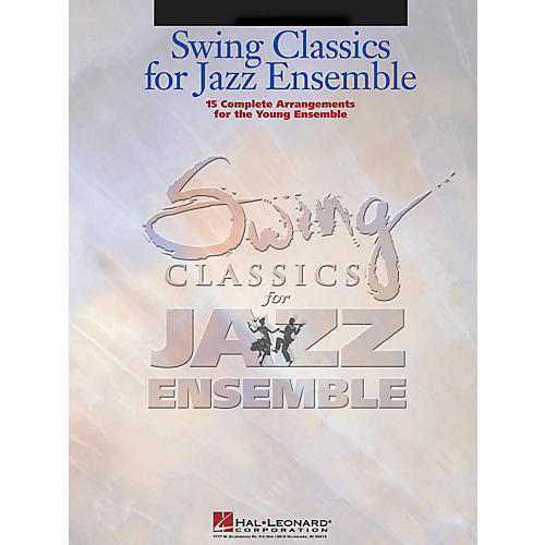 Hal Leonard Swing Classics for Jazz Ensemble - Bass Jazz Band Level 3 Composed by Various-thumbnail