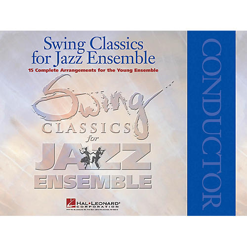 Hal Leonard Swing Classics for Jazz Ensemble - Conductor Jazz Band Level 3 Arranged by Paul Lavender-thumbnail