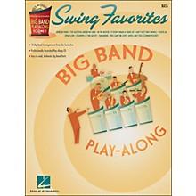 Hal Leonard Swing Favorites Big Band Play-Along Vol. 1 Bass Book/CD