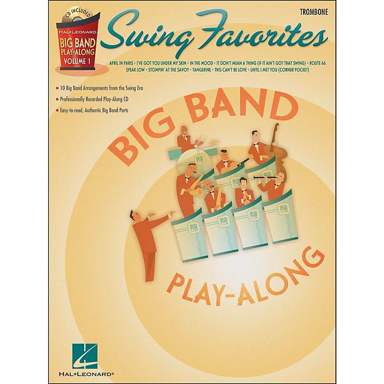 Hal LeonardSwing Favorites Big Band Play-Along Vol. 1 Trombone Book/CD