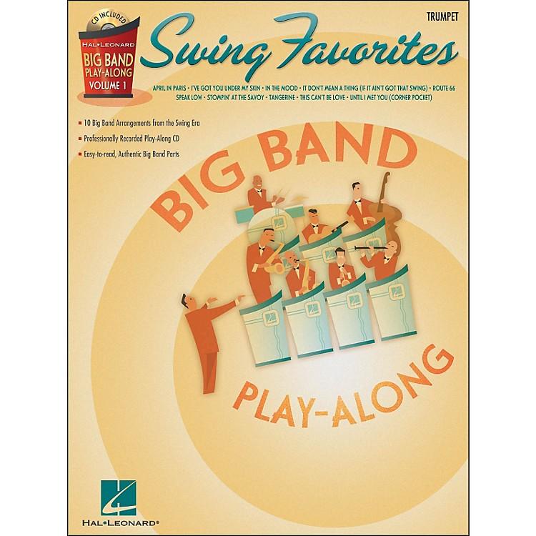 Hal LeonardSwing Favorites Big Band Play-Along Vol. 1 Trumpet Book/CD