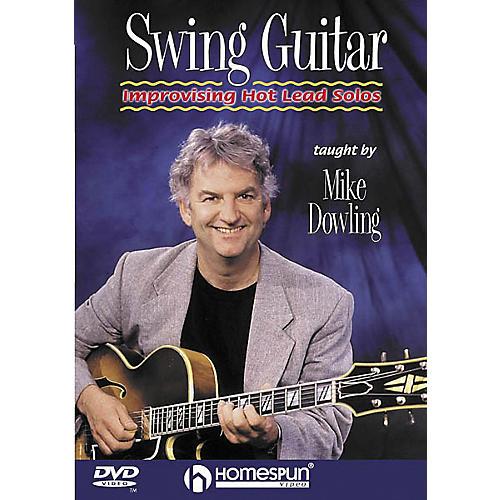 Homespun Swing Guitar - Improvising Hot Lead Solos (DVD)-thumbnail