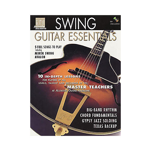 String Letter Publishing Swing Guitar Essentials (Book/CD)