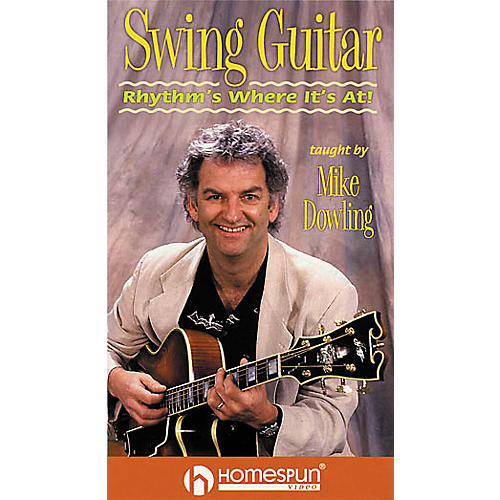 Homespun Swing Guitar Instructional Video (VHS)-thumbnail