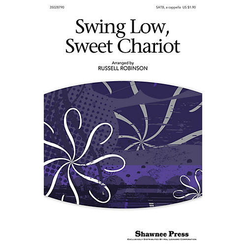 Shawnee Press Swing Low, Sweet Chariot SATB arranged by Russell Robinson-thumbnail